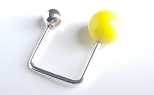 ring-assy-murano-yellowØ10-silverØ6-vue2